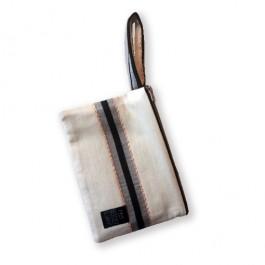 Waterproof Bag Woven - Amalia Beige