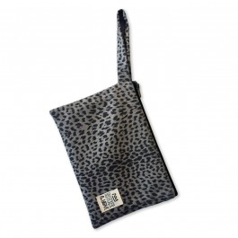 Waterproof Bag Woven - Leopard Black
