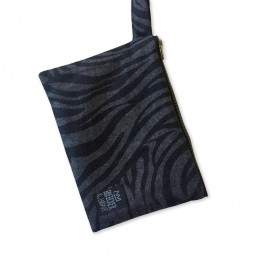 Waterproof Bag Woven - Grey Leopard