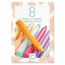 Set of 8 gel pastels