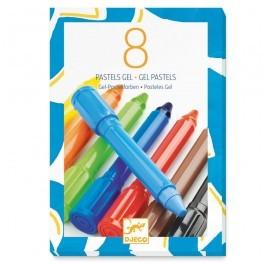 8 λαδοπαστέλ - βασικά χρώματα
