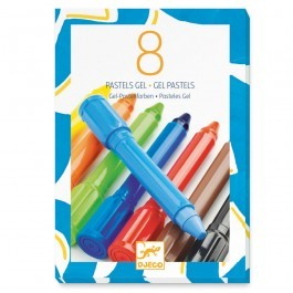 Set of 8 gel pastels - Classic Colors