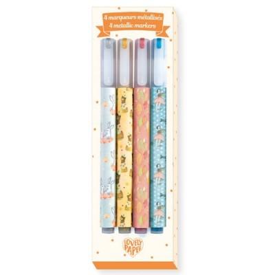 6 Neon Gel Pens