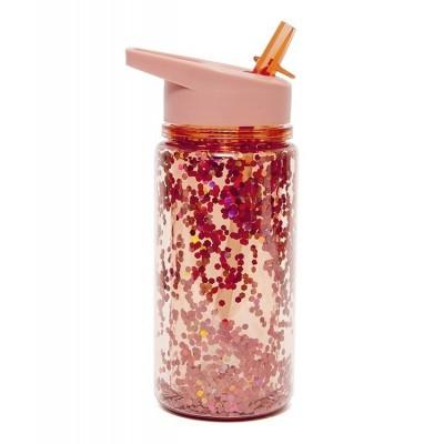 Μπουκάλι με Glitter - PEACH