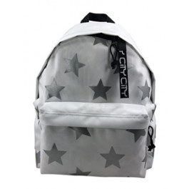 Back Bag for kids - City Drop Special - Silver Stars