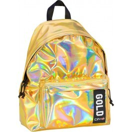 Back Bag for kids - Drop Trendy - Gold Mirror