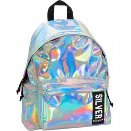 Back Bag for kids - Drop Trendy - Silver Mirror
