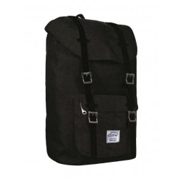 Back Bag for kids - City Bestie - Black Melange