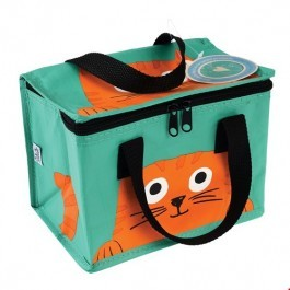 Insulated Lunch bag - Chester the cat