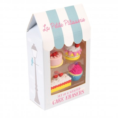 Cake erasers La Petite Patisseries - Set 4