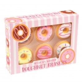Γόμες Doughnut - Σετ 6