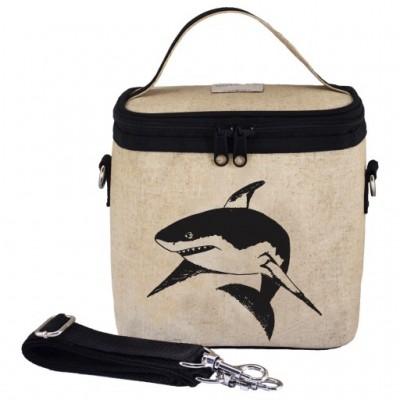 Μεγάλη Ισοθερμική τσάντα φαγητού - Black Shark