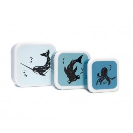 Lunchbox Sea animals - Set of 3