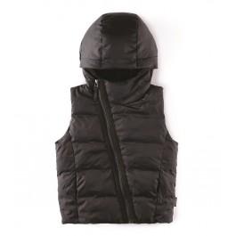 Down Vest - Black