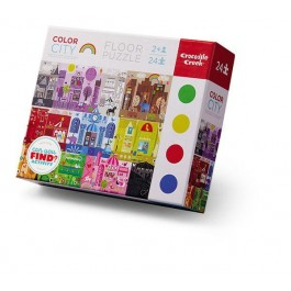 Learning Puzzle 24pcs - Colorful city