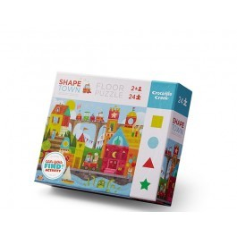 Learning Puzzle 24pcs - Shape city