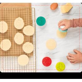 Σφραγίδες για μπισκότα - Σετ 4