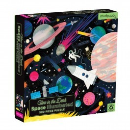 Puzzle Space 500 pcs - Glow in the dark