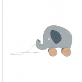 Wooden pull toy Elephant