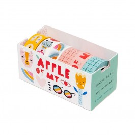 Washi Tape Apple of my Eye - Set of 6