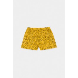 Leopard Woven Short- Bobo Choses