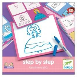 Ζωγραφίζω βήμα βήμα - Ζοζεφίν