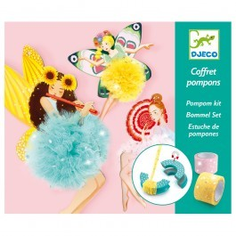 Pom pom kit Fairies by Djeco
