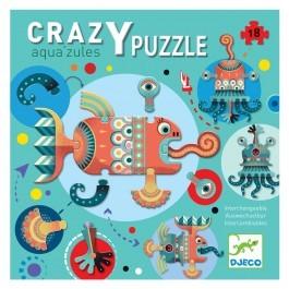 Giant Crazy Puzzle Aqua Zules - 18pcs
