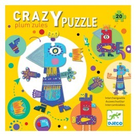 Giant Crazy Puzzle Plum Zules - 18pcs