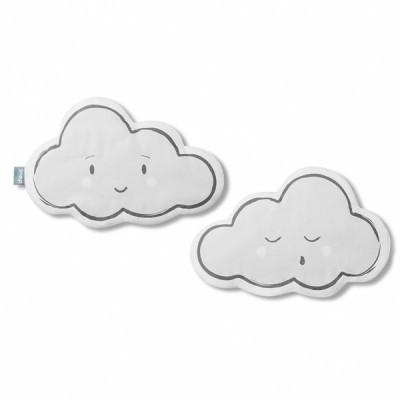 Διπλής όψης μαξιλάρι Σύννεφο γκρι- Snap the moment