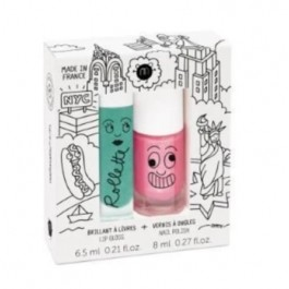Duo Set Nail polish and lipgloss New York