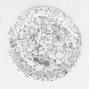 πιάτα, χαρτοπετσέτες