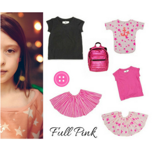 smart buy for girl - full pink