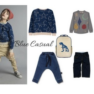 smart buy for boy - blue casual